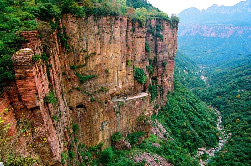 河北石家莊_嶂石巖景區